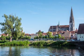 Skyline von Regensburg