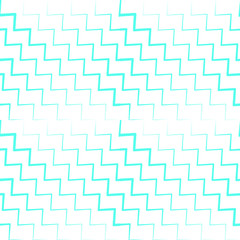 Seamless illustration with zig zag lines diagonally in blue, irregular in thickness. Vector illustration on white background.