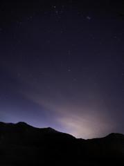 강원도의 밤하늘
