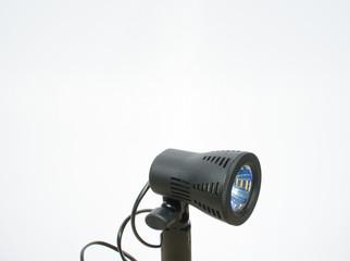 small black spotlight