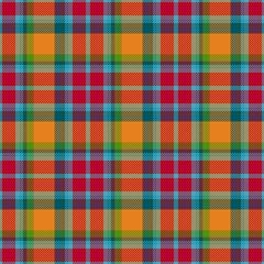 Beautiful rural trendy seamless tartan checkered pattern design