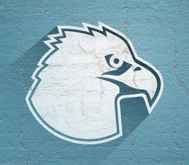 elegant eagle symbol