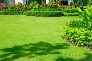 Landscaped Formal Garden, Front yard with garden design, Peaceful Garden