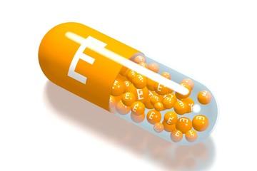 Vitamin E concept