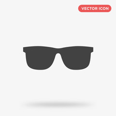 Sunglasses icon isolated on white background
