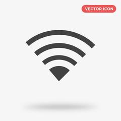 Wifi icon isolated on white background