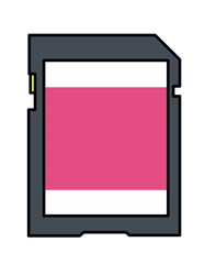 SDカード模様(ピンク)