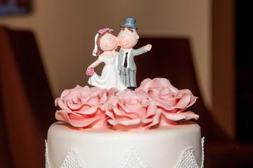 Hochzeitstorte dreistöckig