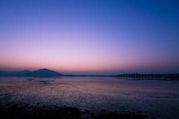 伊良湖岬 夕焼け