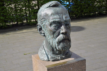 Büste Alfred Nobel in Geesthacht