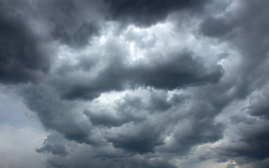 clouds, it's going to rain