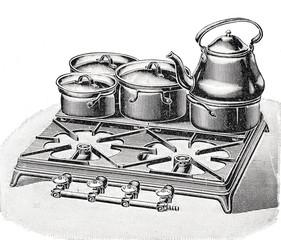 Eiserne Platte für Gaskocher
