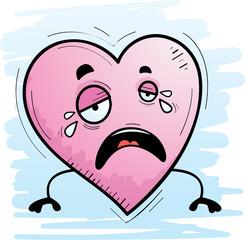 Cartoon Heart Crying