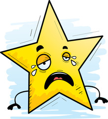 Cartoon Star Crying