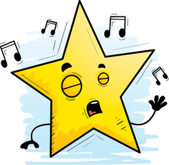 Cartoon Star Singing