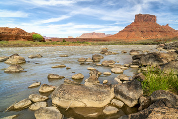 Colorado River above Moab in Utah