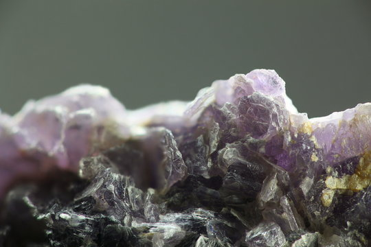 Lepidolite, industrial source of lithium