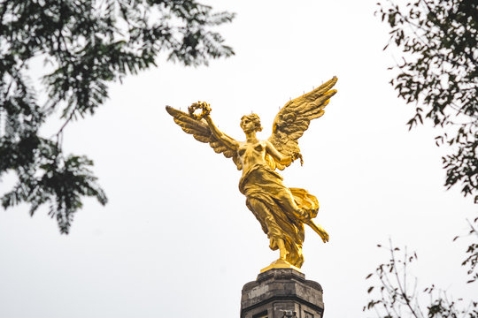 independence angel in mexico city