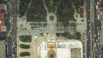 bellas artes aerial