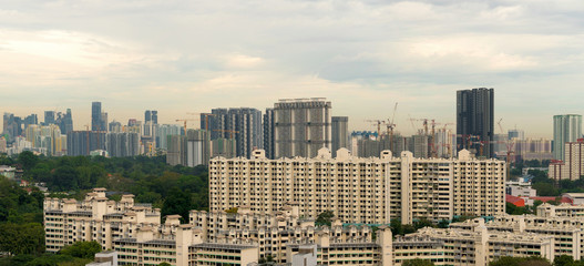 Singapore Apartment Homes Construction