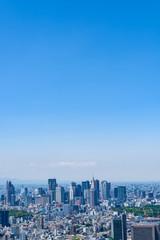 初夏の東京風景 Tokyo city skyline , Japan