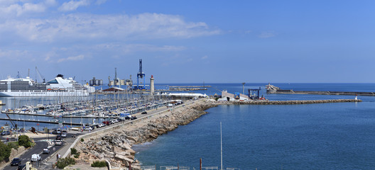 harbor un the south of france