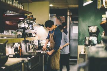 カフェの日常