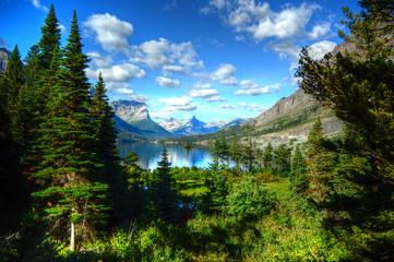 Lake View in Glacier National Park, Montana