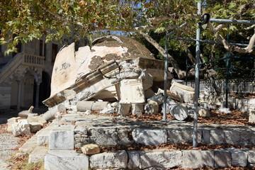 Erdbebenschaden in Kos-Stadt