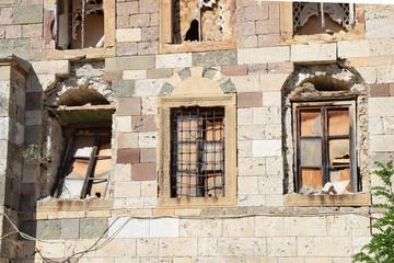 Fenster in Kos-Stadt