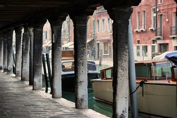 Burano, Italy - Canalside Arches