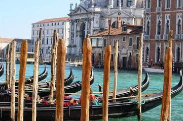 Venice, Italy - Gondola on the Grand Canal