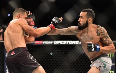 MMA: UFC Fight Night-Puelles vs Silva