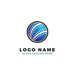 world film strip logo design. global international cinematography production illustration.