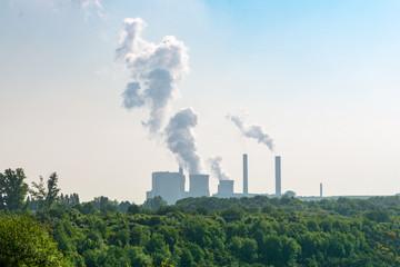 Groß Kraftwerk zur Stromerzeugung