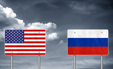 Trade conflict between USA and Russia