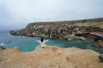 マルタ島のポパイ村