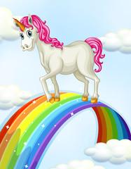 A Unicorn on the Rainbow