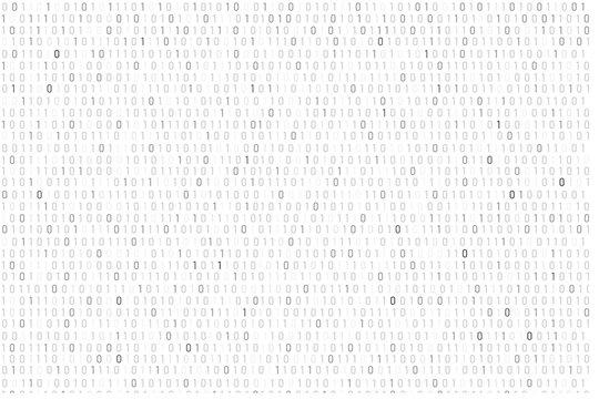 Binary code background