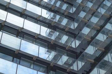 Glas Fassaden Architektur Verwaltung