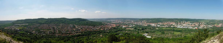 Jena panorama Jenzig
