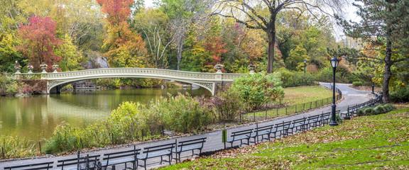 Canvas Prints Bridge Bow bridge Central Park