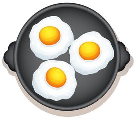 Sunny Side Up Eggs Breakfast