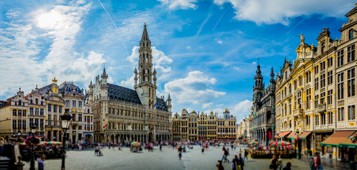 Photo sur cadre textile Bruxelles City of Brussels - Belgium