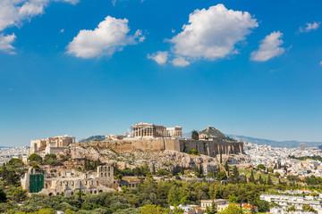 Parthenon, Acropolis of Athens, Greece at summer day Fototapete