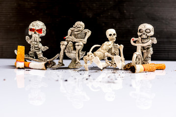 No and Stop smoking for World No Tobacco Day.