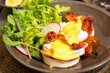 Eggs Benedict-english breakfast
