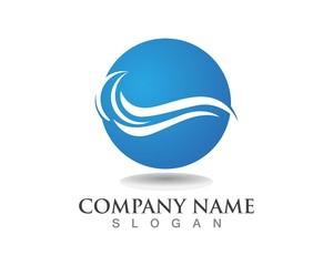 Wave water logos