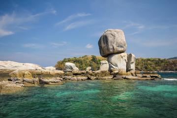 Hin Sorn island, Koh Hin Sorn, Satun, Thailand