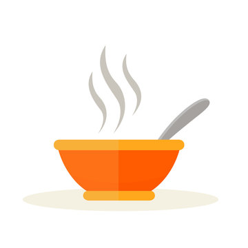bowl design on white background
